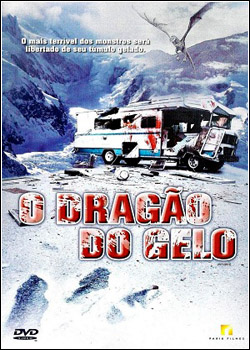 Filme Poster O Dragão do Gelo DVDRip XviD Dual Audio & RMVB Dublado