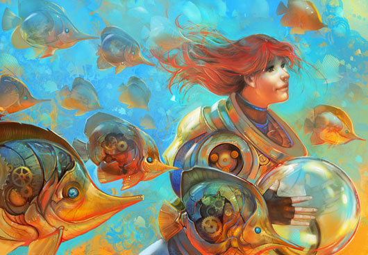 Gold Sea de Julie Dillon