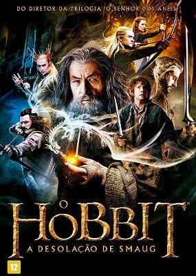Filme Poster O Hobbit: A Desolação de Smaug WEBRip XviD & RMVB Dublado