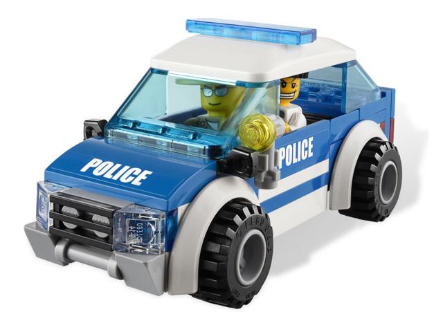 レゴ シティ フォレストポリスパトロールカー 4436