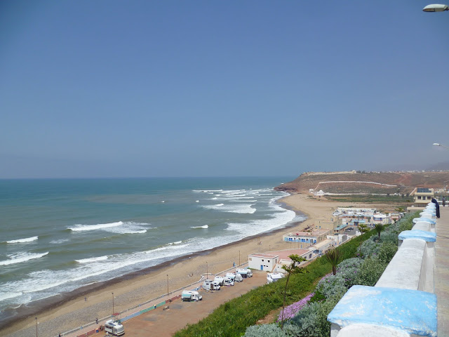 Sidi Ifni - View from my lunch table
