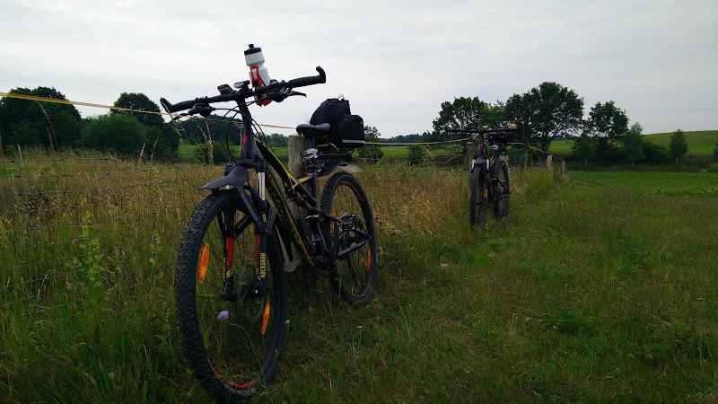 Mit dem Bike unterwegs...