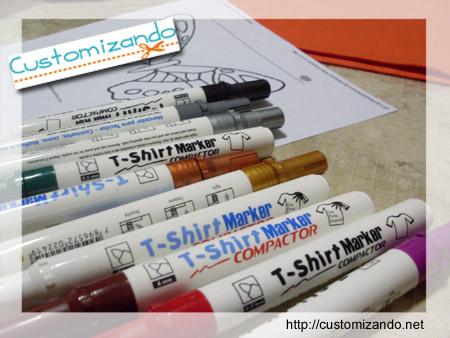 Customização de camiseta com T-Shirt Markes da Compactor