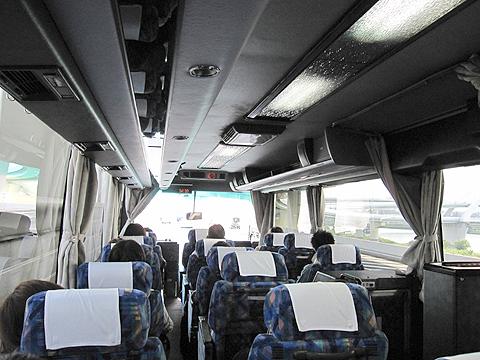 東北急行バス「ホリデースター号」 ・822 車内の様子