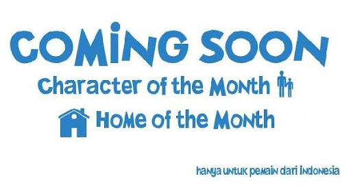 Character and Home of the Month