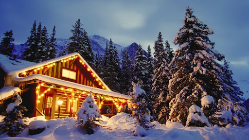 Christmas Cabin in the Woods.jpg