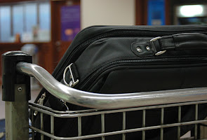 Moving abroad airport luggage