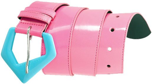 Marc By Marc Jacobs Neo Geo Belt Pink / Blue