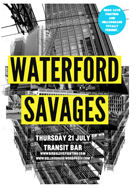 waterford and savages poster