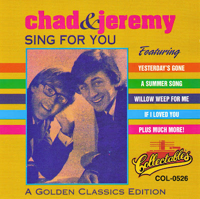 Chad & Jeremy ~ 1964a ~ Yesterday's Gone