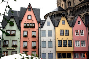 Buildings in Cologne Germany