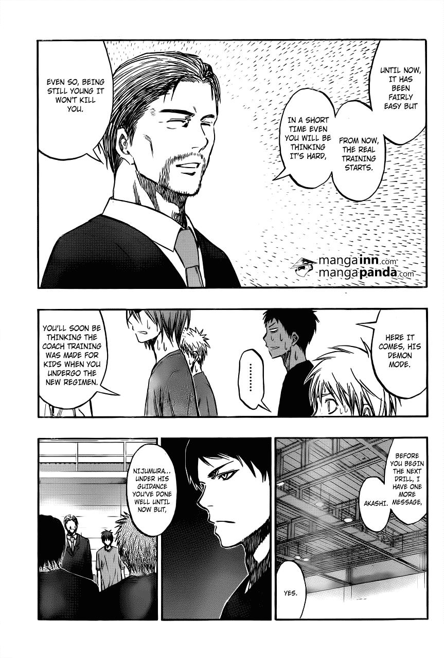Kuroko no Basket Manga Chapter 212 - Image 07