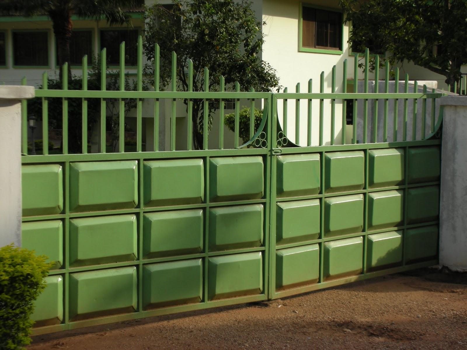 Fence Idea House Ghana Zion Star