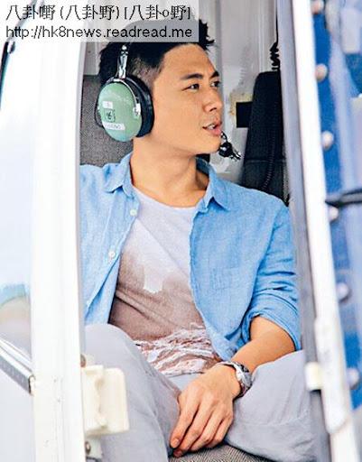 拍劇期間,令黃宗澤可以坐直升機環島遊。