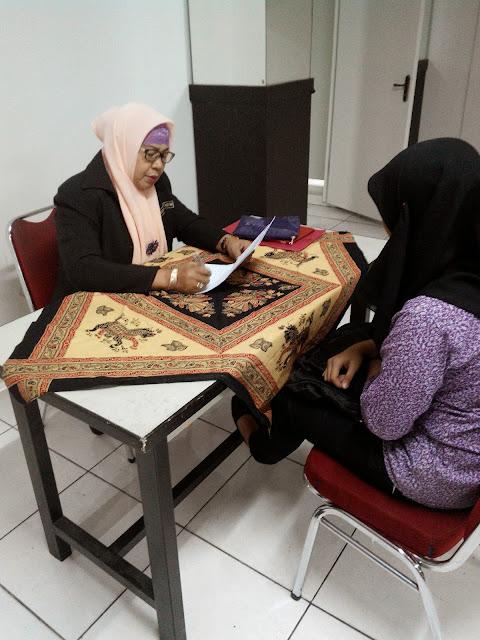 Wawancara STBA Pertiwi dan tes Untuk calon mahasiswa baru