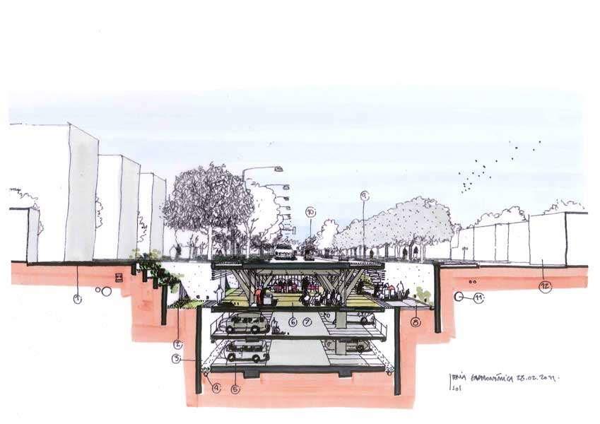 Dibujos de arquitecto architect drawings 110228 tenia - Trabajo arquitecto barcelona ...