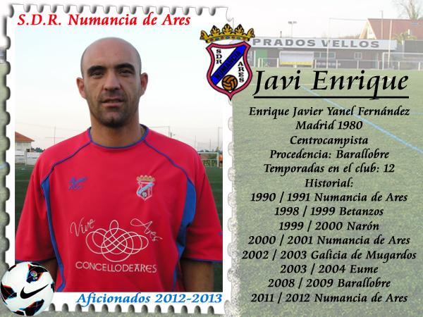 ADR Numancia de Ares. Javi Enrique.
