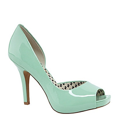 """c3156b2418 First, we have the """"Carri"""" pump, classic sexy peep toe pump with a touch of  leopard (my absolute fav) on the inside. We currently carry the pink color  for ..."""