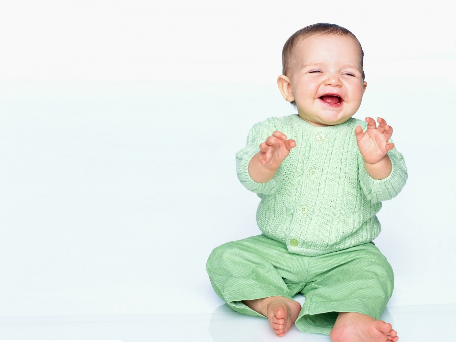 baby pictures: cute baby laughing