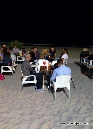 Chiringuitos de playa y terrazas de verano en las playas de El Campello