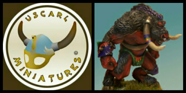 Minotauro Uscarl Miniatures Blood Bowl