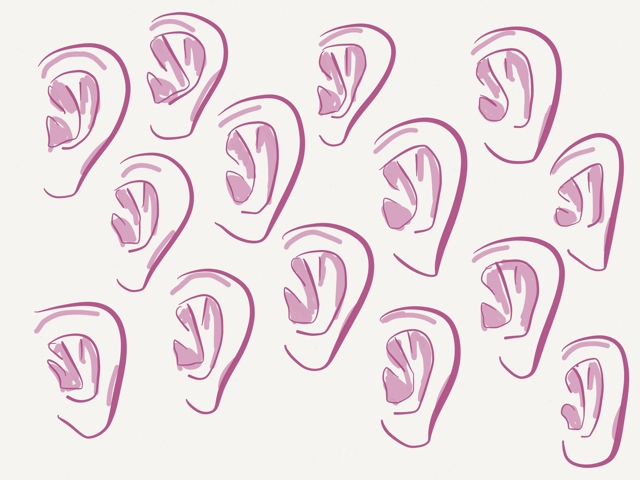 ear repeat pattern