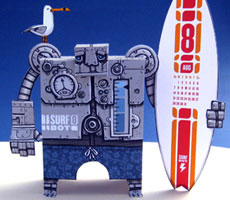 Surfbot Papercraft