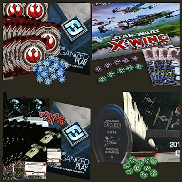 Kits de liga Fantasy Flight X-Wing