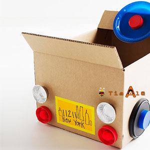 Carro De Papelão Reciclagem Blog Da Tia Alê