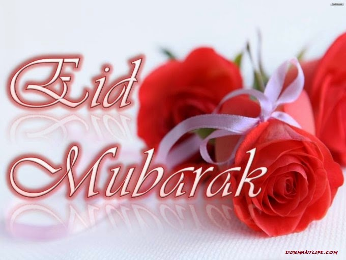 Eid Mubarak Wallpapers with rose flowers.jpg - Eid Ul Fitr 2014: Greeting, Cards And SMS