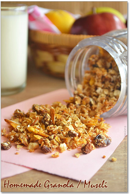 Homemade Museli / Granola Recipe