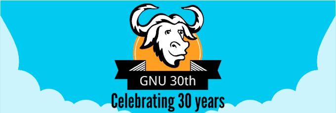 Los 30 años de GNU