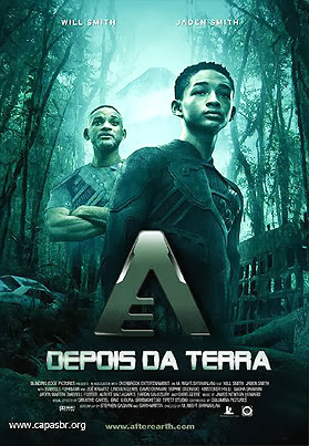 Filme Poster Depois da Terra HDRip XviD Dual Audio & RMVB Dublado