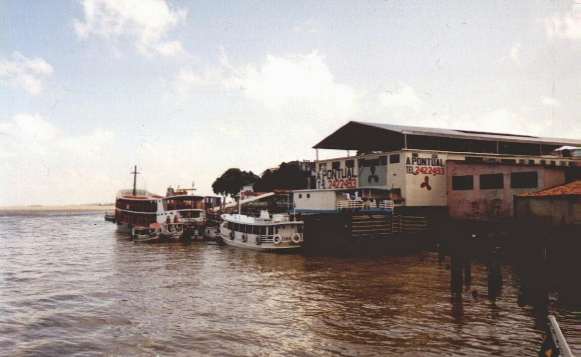 Fähre über den Rio Capim