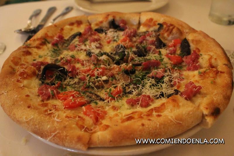 Pizza en el Hotel de Sonoma