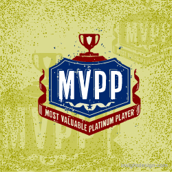 Most Valuable Platinum Player logo design Denver