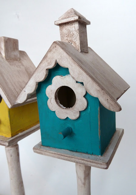 BH10 Shabby Birdhouses 23