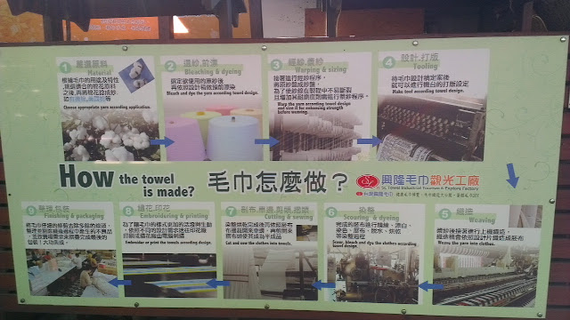 雲林虎尾景點《興隆毛巾觀光工廠》 遊記來去參觀一下多元特色化的觀光工廠!