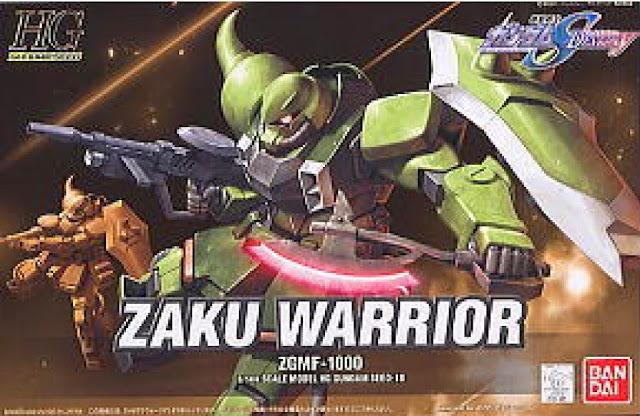 Đồ chơi Lắp ghép Zaku Warrior Gundam Seed Destiny