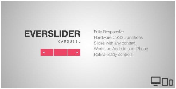 Everslider - Responsive jQuery Carousel Plugin by flGravity | CodeCanyon
