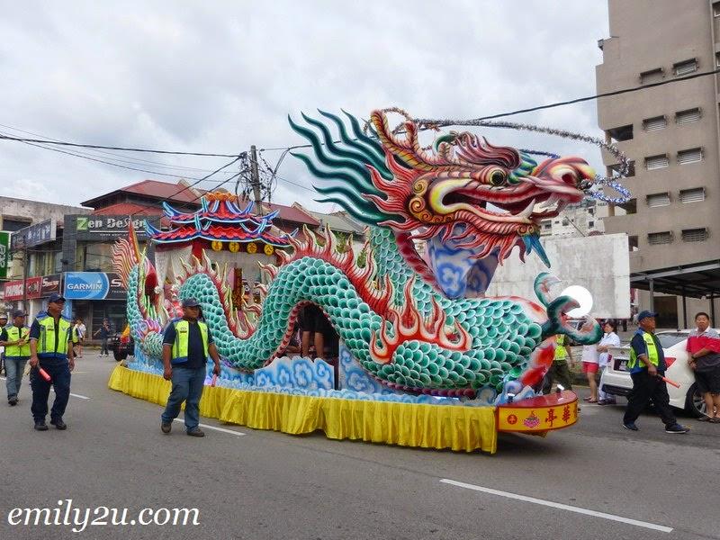 Goddess Mazu procession