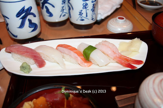 Small selection of Sushi