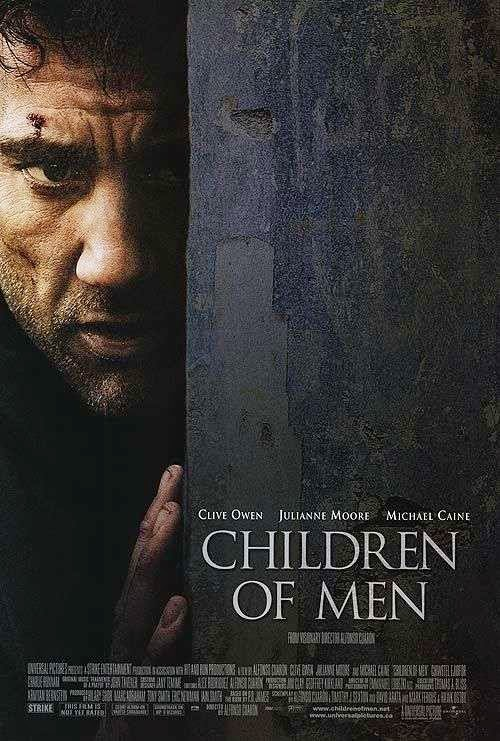Poster Of Children of Men (2006) Full Movie Hindi Dubbed Free Download Watch Online At Alldownloads4u.Com