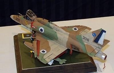 Israeli A-4 Skyhawk model kit