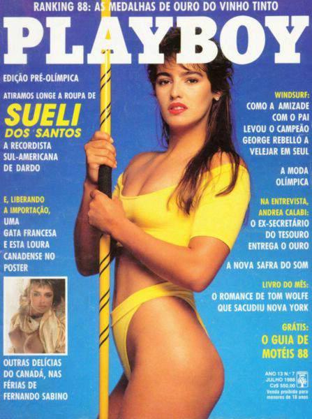Sueli dos Santos - Playboy 1988