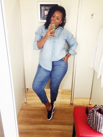 plus sized fashion blogger