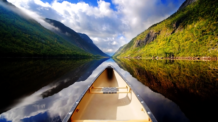 Canoe Trip wallpaper