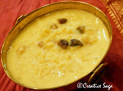 brown rice payasam