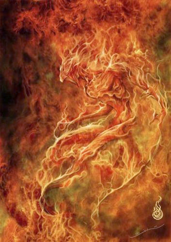 Elementals Fire By Thia