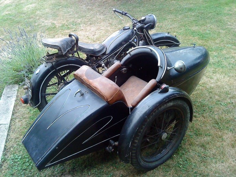 BMW R12 side-car Bernardet